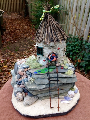 Isabel Metzler, MS 1st Place, Seaside Fairy Cottage
