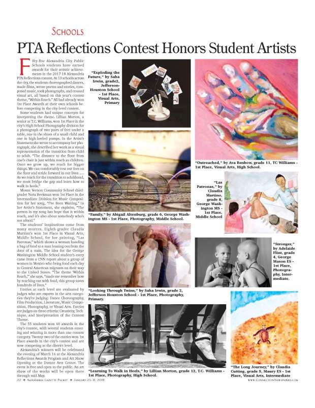 Alex Reflections Winners, in Gazette-Packet 22 jpg