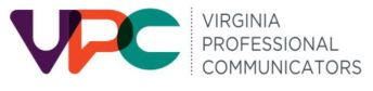 Va Professional Communicators logo