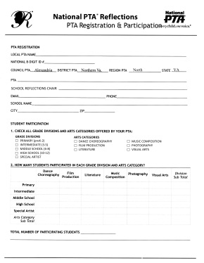 School Participation Form